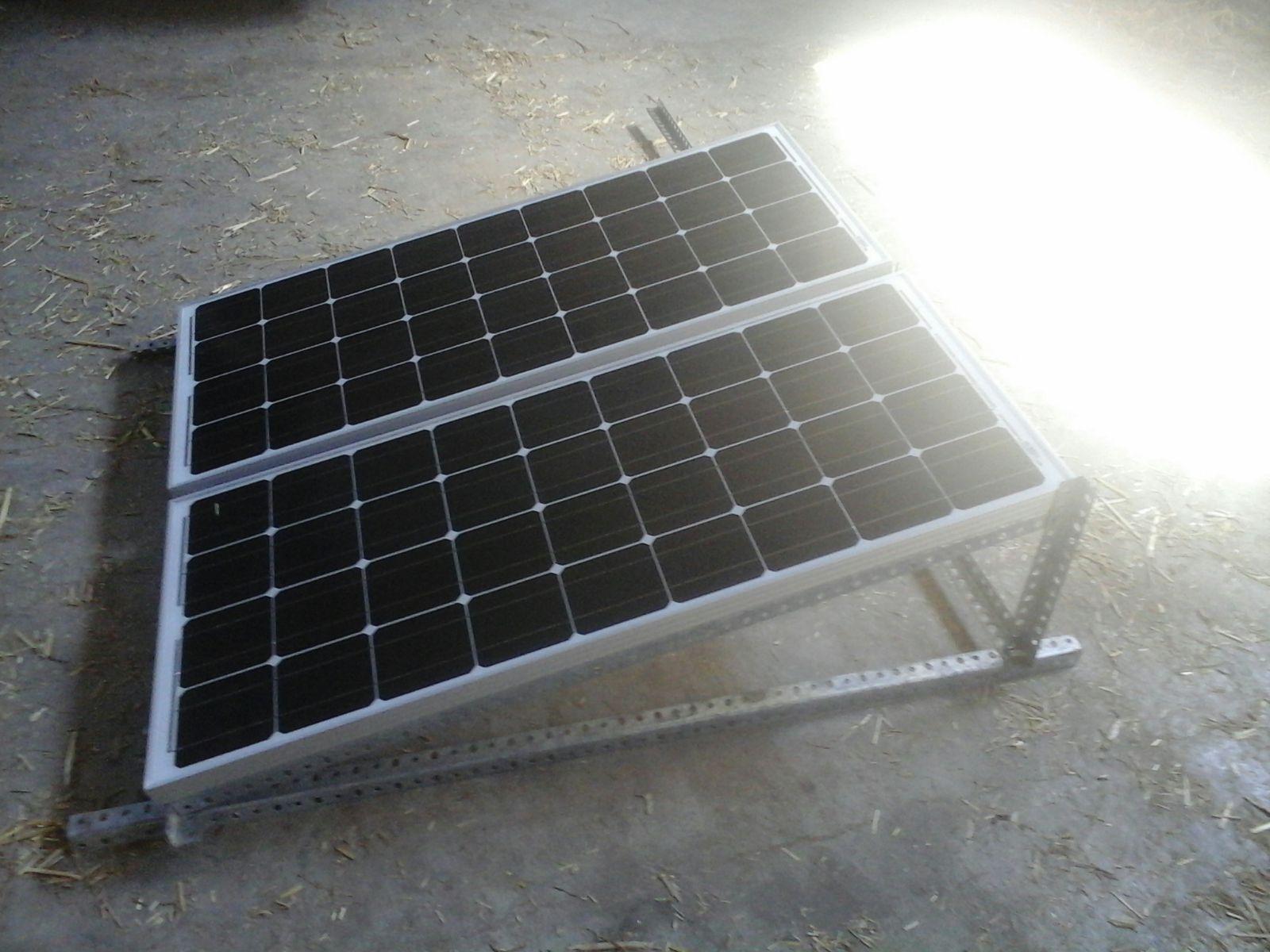 Placas solares para el taller