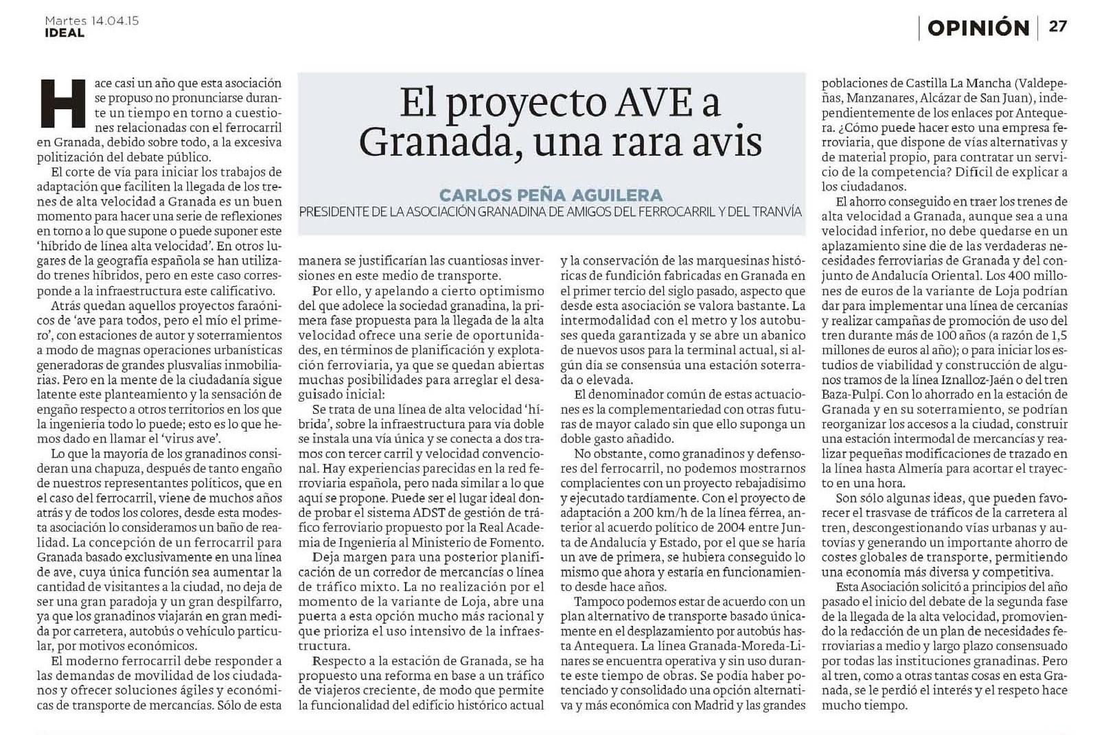 Diario Ideal 14-04-15